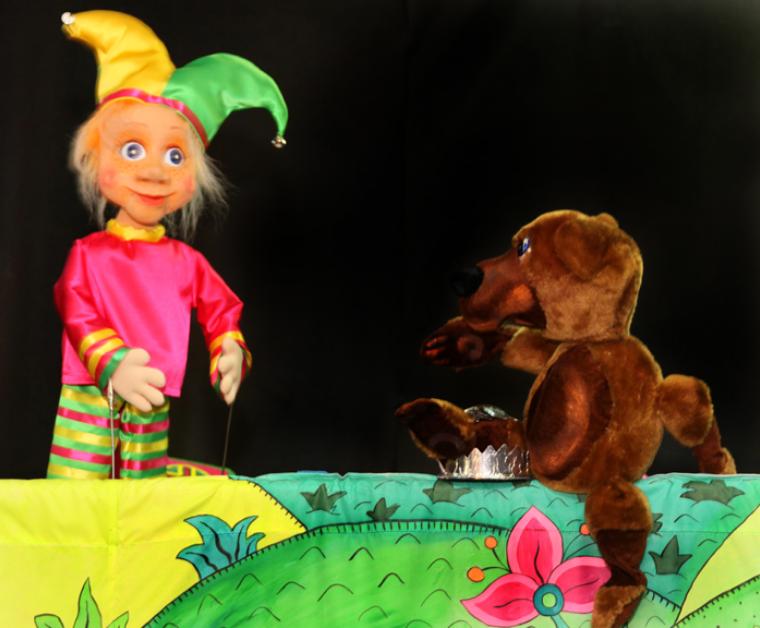 «Старушки-веселушки и приключения Петрушки»