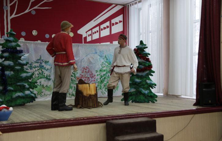 Приключения у Новогодней елки