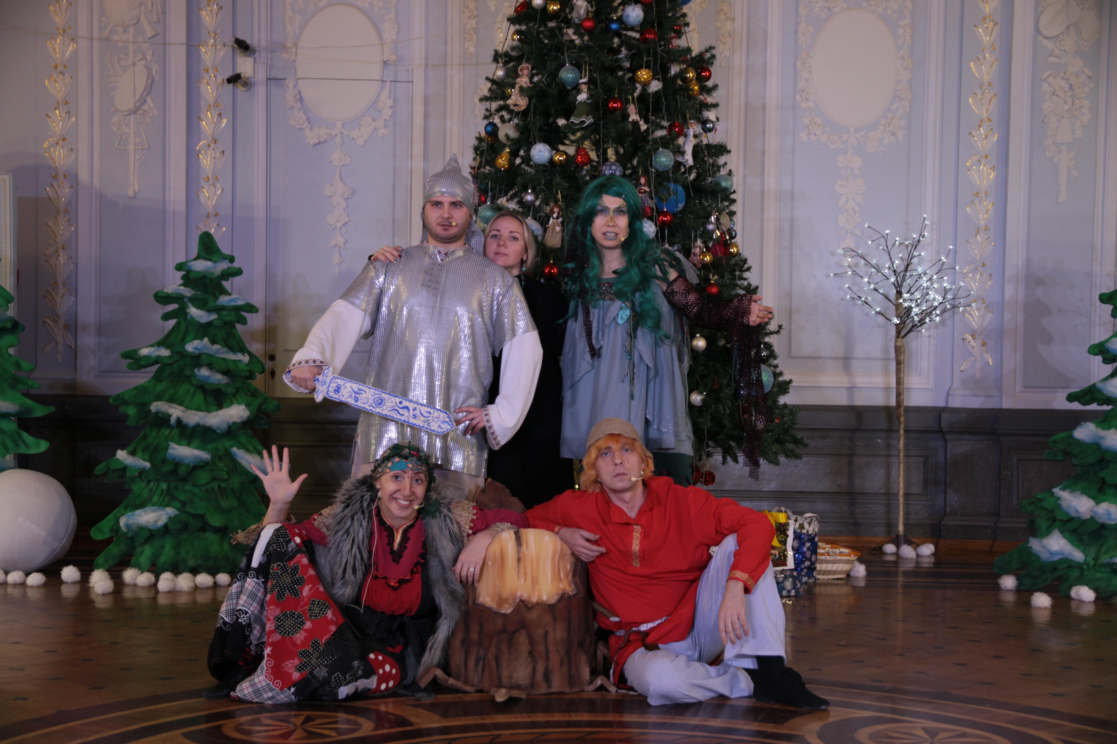 «Приключения у новогодней ёлки»