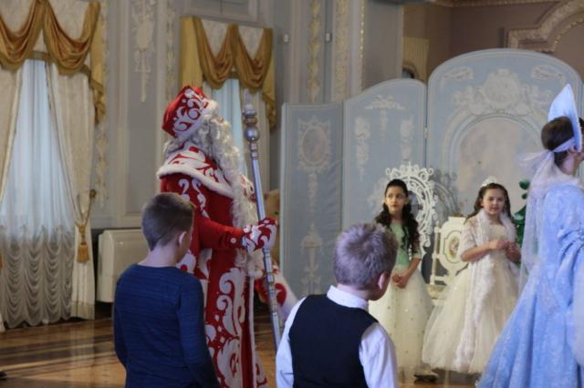 Новогоднее представление в усадьбе Рукавишниковых