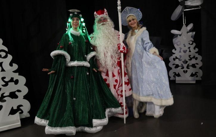Секрет Новогоднего Снега. Театр на Счастливой